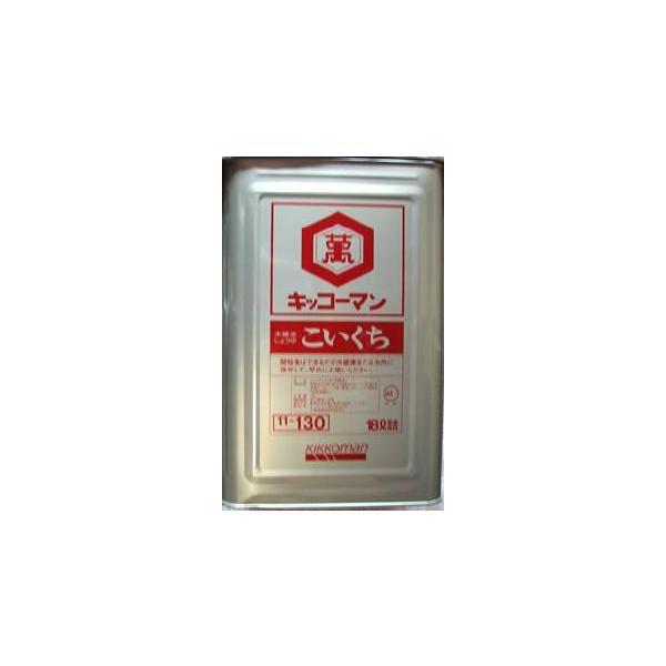 キッコーマン 濃口醤油 テンパット缶 18L