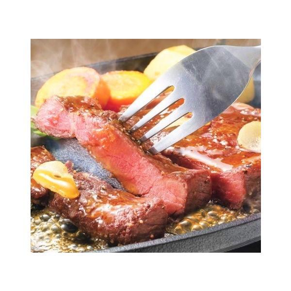 お中元 送料無料 夏ギフト 高橋畜産 レンジで便利!お肉博士監修の本格ロースステーキ