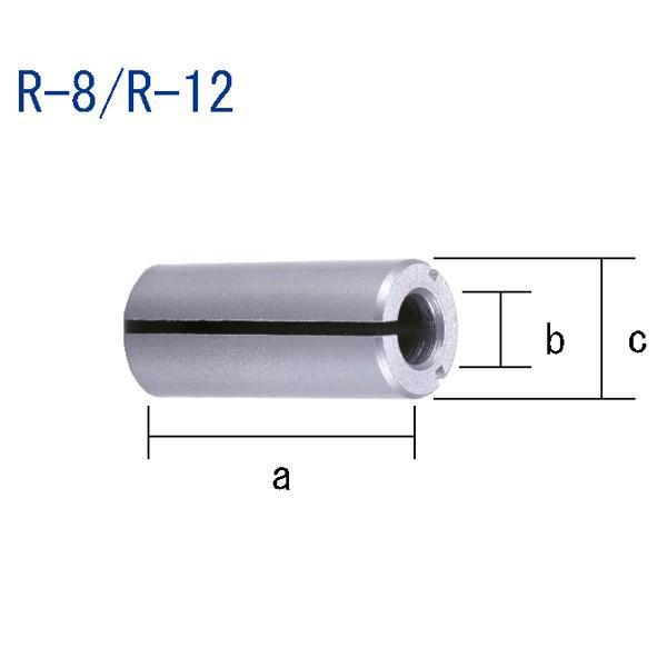 ルーター用アダプターR-12ルーター電動工具ルータービット面取りルータービット研磨