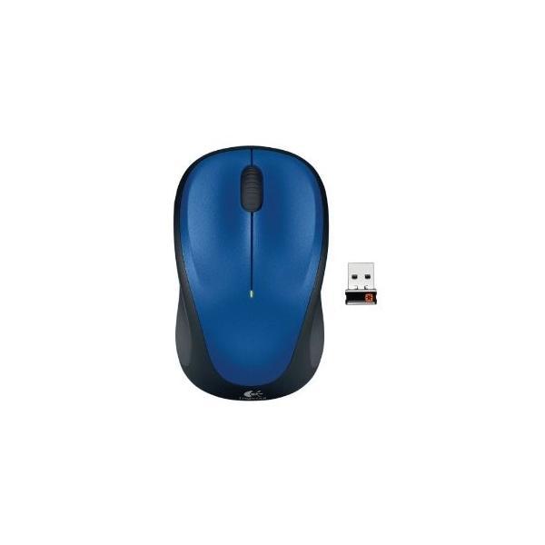 LOGICOOL ワイヤレスマウスM235r M235rBL ブルーの画像