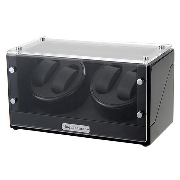 ロイヤル ハウゼン ワインダー ワインディングマシーン 4本巻き GC03-D102BB ブラック