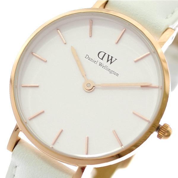 ダニエルウェリントン腕時計PETITEBONDI28ローズゴールドDW00100249ホワイトホワイト