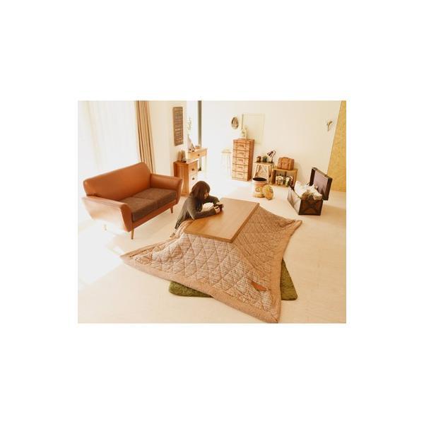 こたつ 長方形 テーブル 120×54  家具調こたつ  東谷 AZUMAYA  オズKT-103OAK|maone|03