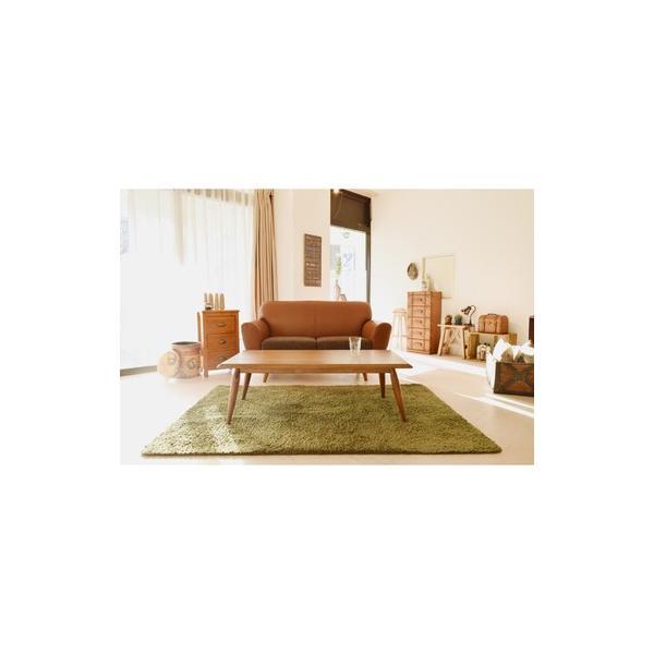 こたつ 長方形 テーブル 120×54  家具調こたつ  東谷 AZUMAYA  オズKT-103OAK|maone|06