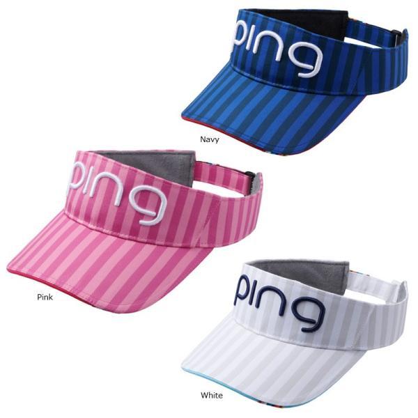 PINGピンゴルフサンバイザーレディースHW-L192日本正規品ゴルフ用品帽子()