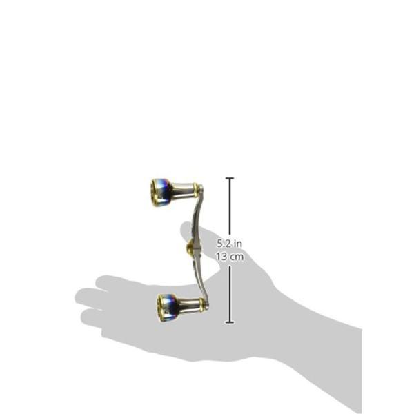 LIVRE(リブレ) リール FullComp クランク (右巻用) シマノ100用(チタンP+ゴールドG)