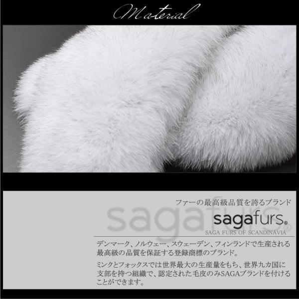日本製 SAGA フォックス ファー マフラー F3011 キャメル mapletreehouse 08