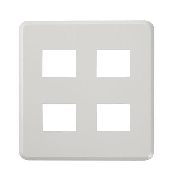 ELPA エレガントプレート 4口(2+2) PL-E22HN(W) mapletreehouse 03