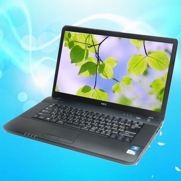 中古ノートパソコン NEC Versa Pro VK23E/A-C MEM:4GB HDD:250GB DVDスーパーマルチ 無線内蔵 Windows7 KingSoft Office2013 marblepc