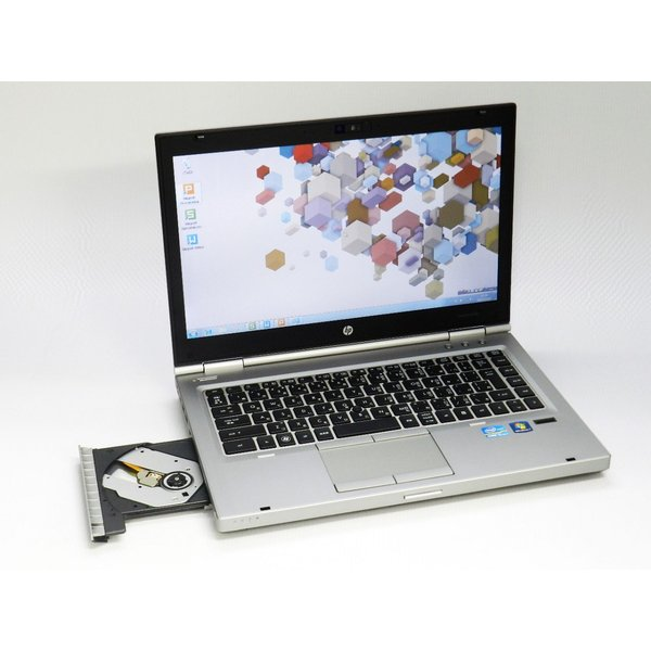 中古ノートパソコン Windows7|HP EliteBook 8460p|Core i5 2.50GHz|MEM:4G HDD:320G|DVDマルチ|KingSoft Office2013|marblepc|02