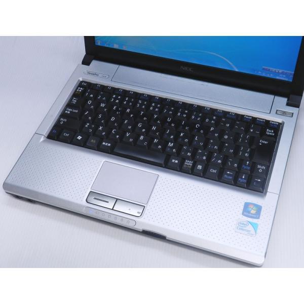 中古ノートパソコン Windows7 日本電気 VersaPro VK13E/B-E MEM:4GB HDD:250GB 外付DVD  WPS Office 中古 中古パソコン Windows7 中古|marblepc|02