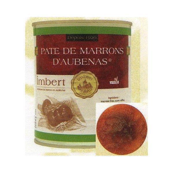 バニラ入り フランス産 マロンペースト 1kg缶 アンベール(Imbert)在庫限り