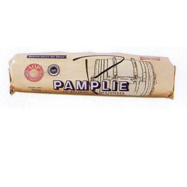 パムプリー (pamplie) 正規品・食塩不使用AOPロールバター250g フランス産 冷凍品