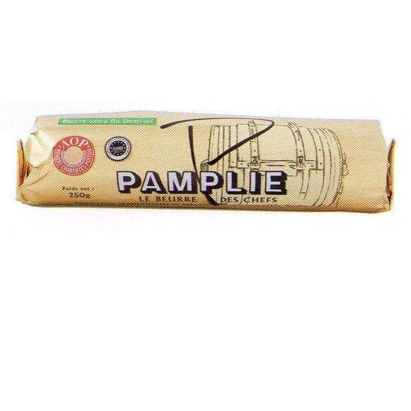 パムプリー (pamplie) 正規品・有塩AOPロールバター250g フランス産 冷凍品