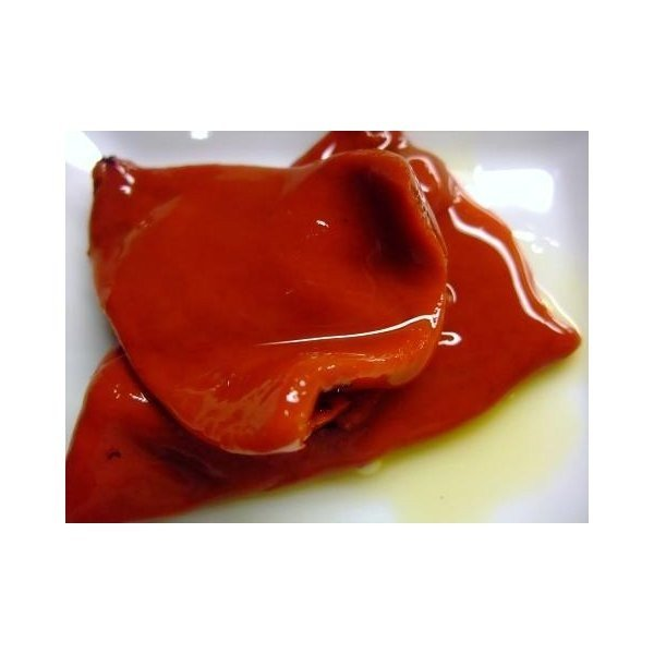 スペイン産 赤ピーマン(パプリカ)のオイル漬け 470g  夏場冷蔵便