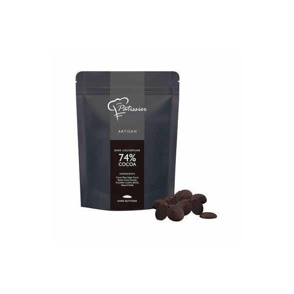 最高級チョコレート アルティザン クーベルチュール ダーク カカオ74% 2.5kg シンガポール産