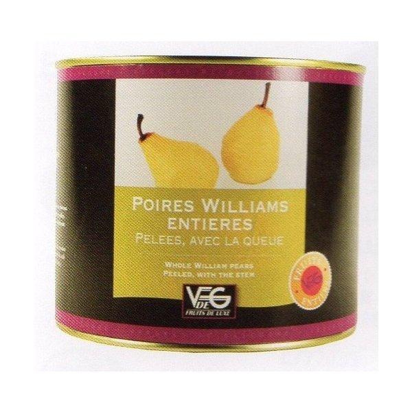 ポワール・ウィリアム(洋梨)のホール12個入り フランス コートリヨネ 2125g×6缶 業務用