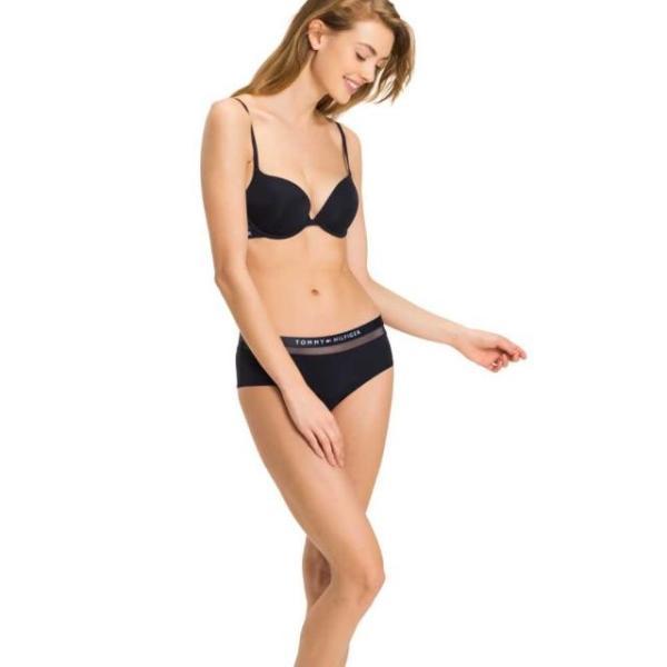 トミー ジーンズ レディース 女性用ウェア アンダーウェア tommy-hilfiger push-up-regular-fit-bra-cup-a