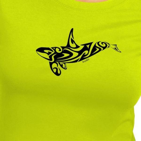 クルスキス レディース 女性用ウェア Tシャツ kruskis orca-tribal