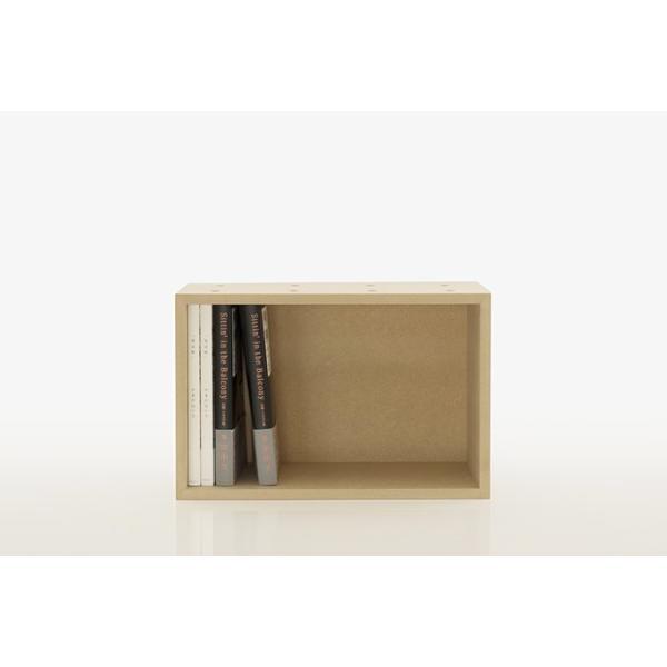コミックラック マンガ 収納ボックス 木製 box 棚|margherita|03