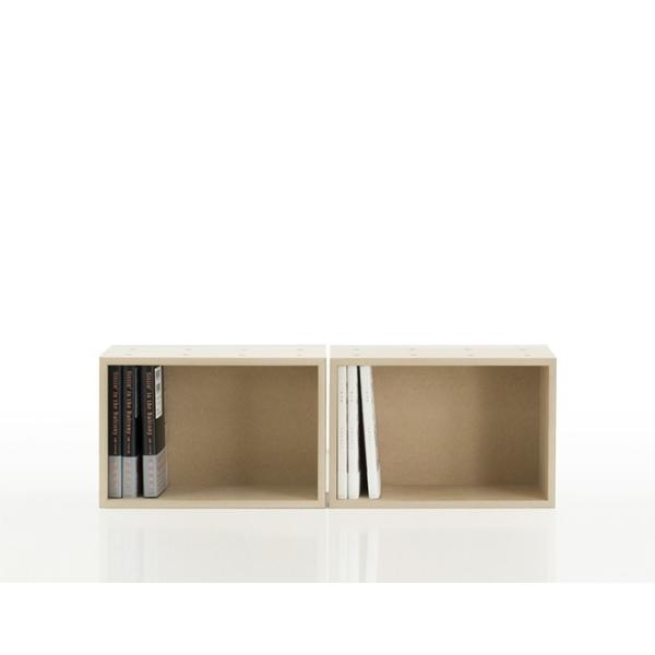 コミックラック マンガ 収納ボックス 木製 box 棚|margherita|04