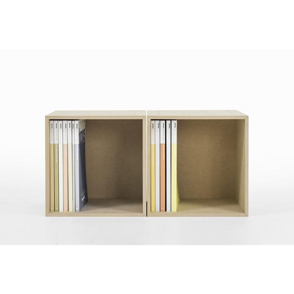 オフィス雑誌ラック オフィス収納 木製 本棚 おしゃれ ボックス マガジンラック A4より少し大きめ収納|margherita|04