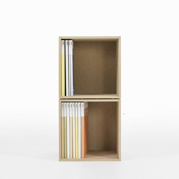 オフィス雑誌ラック オフィス収納 木製 本棚 おしゃれ ボックス マガジンラック A4より少し大きめ収納|margherita|05