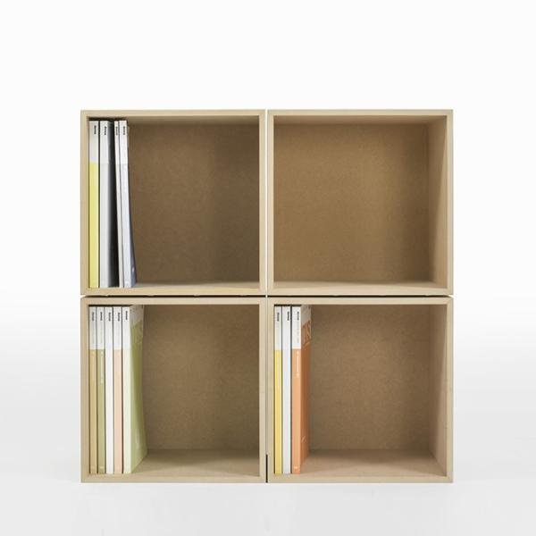 オフィス雑誌ラック オフィス収納 木製 本棚 おしゃれ ボックス マガジンラック A4より少し大きめ収納|margherita|06