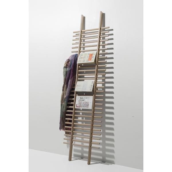ラダーラック 木製 梯子シェルフ 立て掛け デザイン|margherita|03