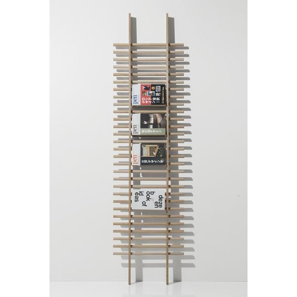 ラダーラック 木製 梯子シェルフ 立て掛け デザイン|margherita|05