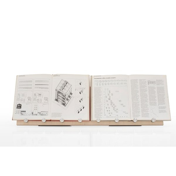 ブックスタンド 書見台 木製 おしゃれ 本立て W900 ディスプレイラック 展示什器 A4サイズ 4冊分