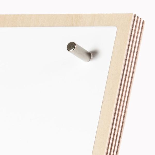 マグネットボード ネオジム磁石 スチール 卓上 ホワイトボード 貼り付け おしゃれ 強力|margherita|07