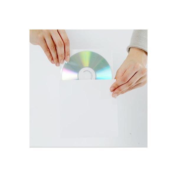 CD用 厚紙ジャケット 白 100枚セット/CD-005-WH|margherita|02