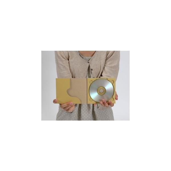 CD用 紙ケース ポケット付き(クラフト)+OPP袋 50組セット/CD-031|margherita|03
