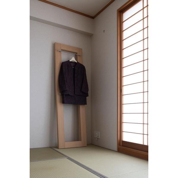 コートハンガー 木製 洋服掛け ディスプレイラック margherita 08