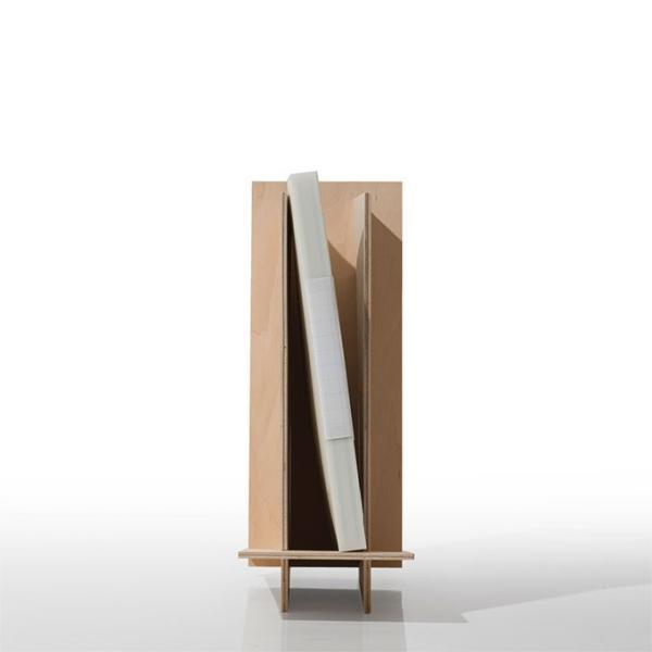 ファイルスタンド 木製 書類立て 卓上収納 デスク整理|margherita|02