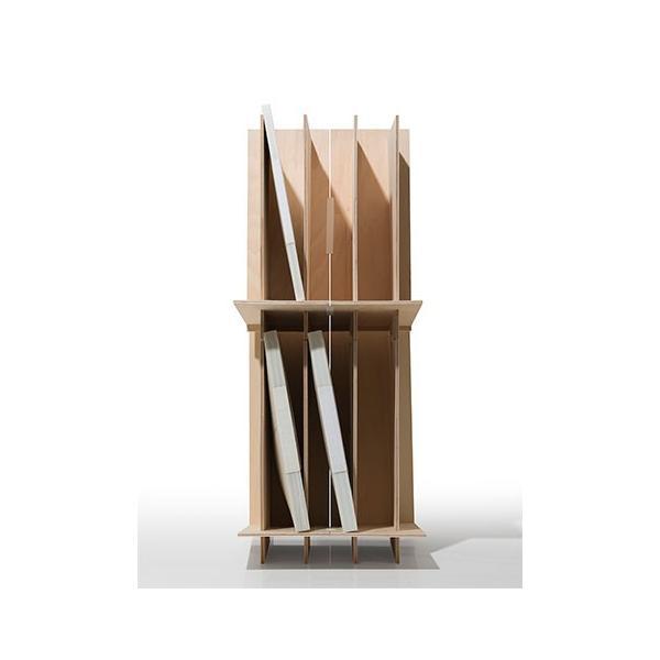 ファイルスタンド 木製 書類立て 卓上収納 デスク整理|margherita|12