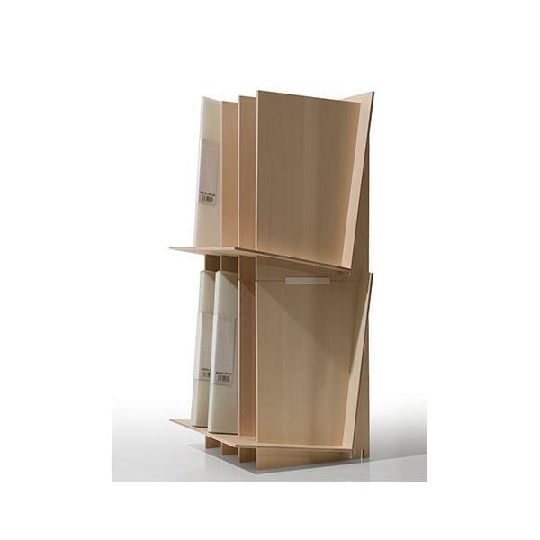 ファイルスタンド 木製 書類立て 卓上収納 デスク整理|margherita|13
