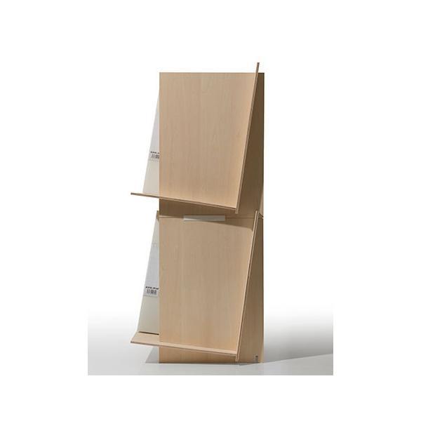 ファイルスタンド 木製 書類立て 卓上収納 デスク整理|margherita|14