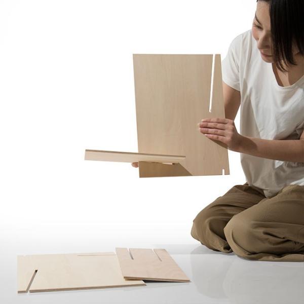 ファイルスタンド 木製 書類立て 卓上収納 デスク整理|margherita|18