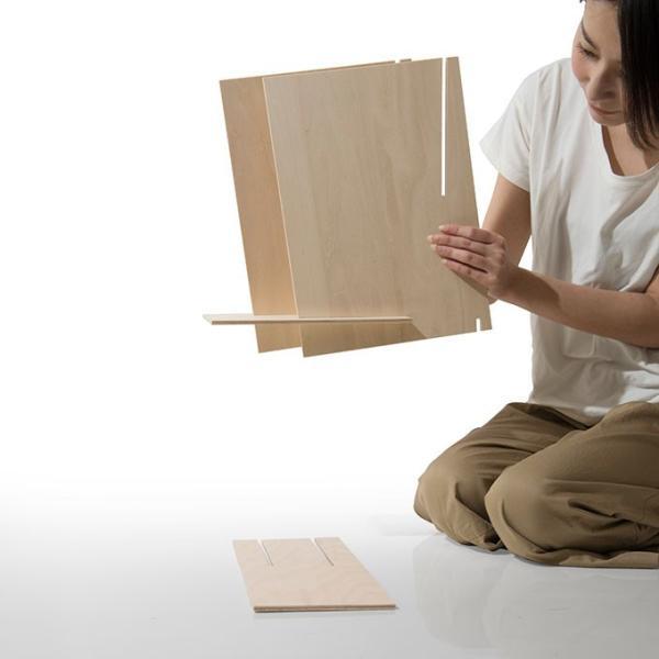 ファイルスタンド 木製 書類立て 卓上収納 デスク整理|margherita|19