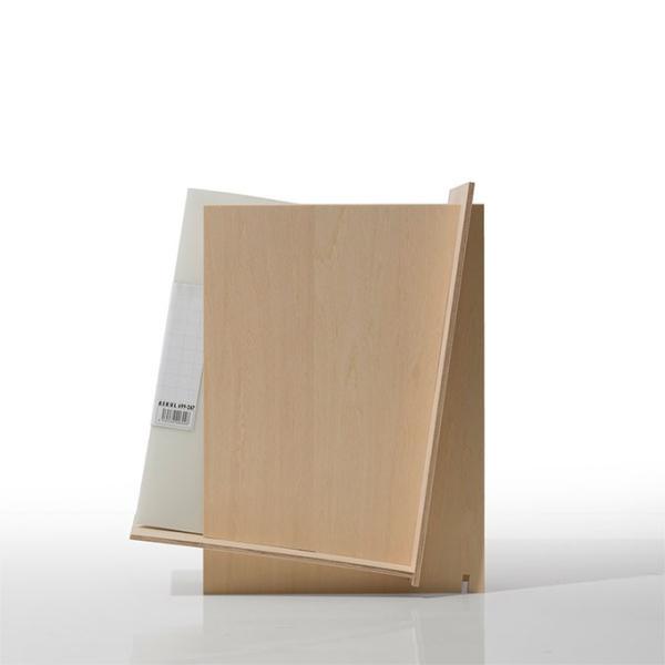 ファイルスタンド 木製 書類立て 卓上収納 デスク整理|margherita|03