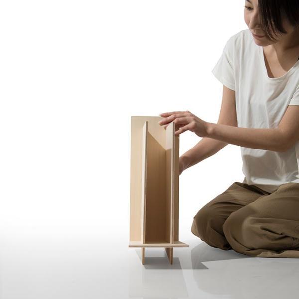 ファイルスタンド 木製 書類立て 卓上収納 デスク整理|margherita|21