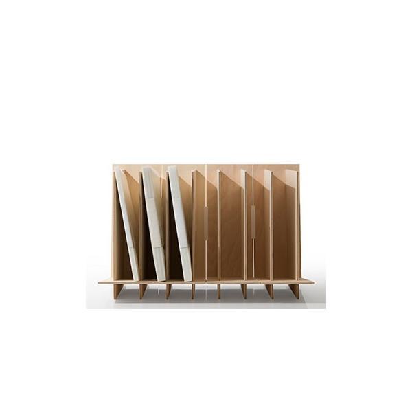 ファイルスタンド 木製 書類立て 卓上収納 デスク整理|margherita|08