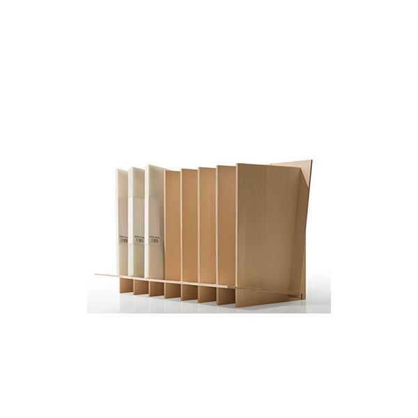 ファイルスタンド 木製 書類立て 卓上収納 デスク整理|margherita|09