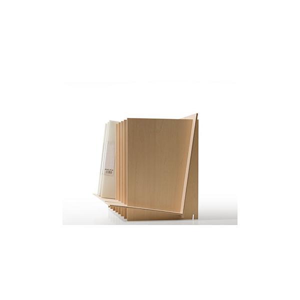 ファイルスタンド 木製 書類立て 卓上収納 デスク整理|margherita|10