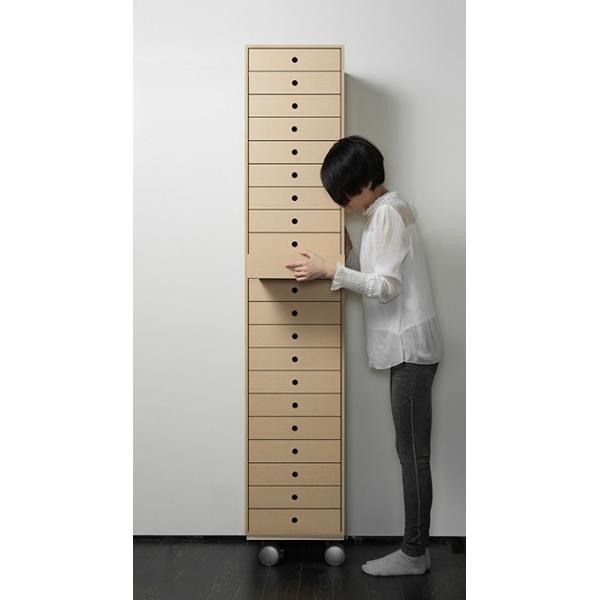 書類棚 A4 引き出し家具 木製 整理 オフィス収納|margherita|03