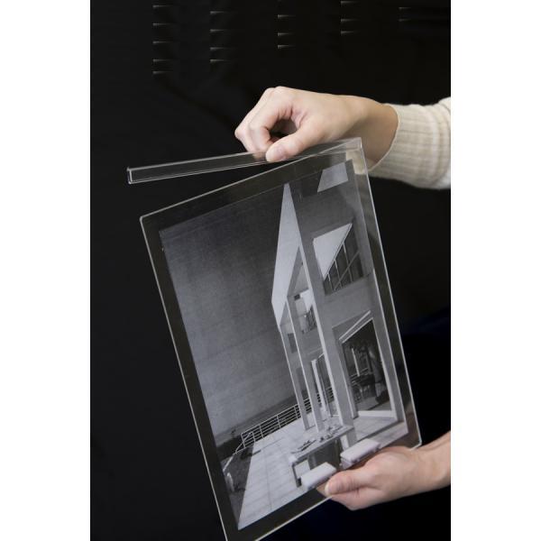 写真立て 書類スタンド フォトフレーム A4 DS-A4 大判写真 証明書 ディスプレイ 縦 横 margherita 06
