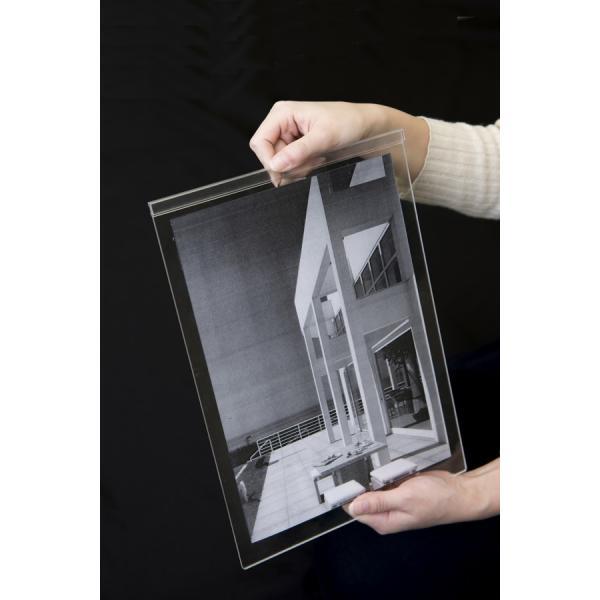 写真立て 書類スタンド フォトフレーム A4 DS-A4 大判写真 証明書 ディスプレイ 縦 横 margherita 07