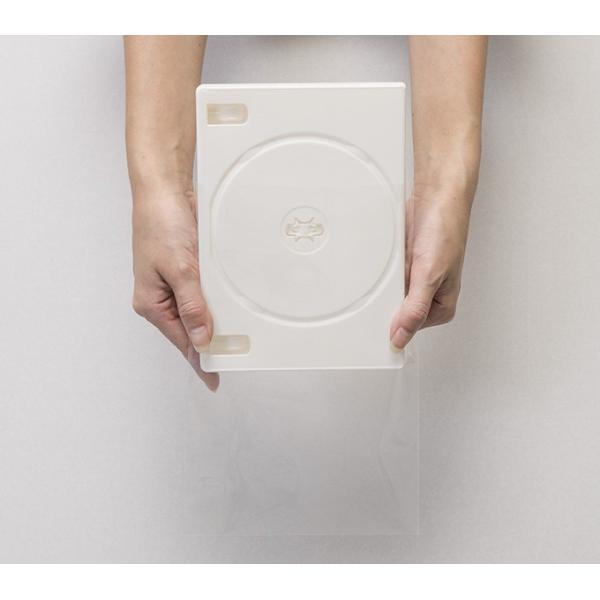 DVD用クリアシール OPP製 のり付き袋・本体側 小ケース 上入れ ワイド 200枚セット/マルゲリータ|margherita|02